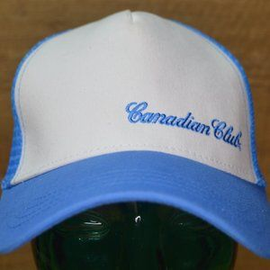 Canadian Club Blue Licensed Trucker Hat